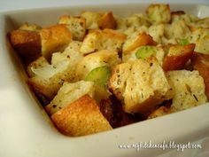 Rustic Herb Stuffing | Recipe | Stuffing, Herbs and Rustic