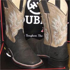 Double H Boots at Jack's Western Store in Cullman, AL.