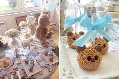 Lima Limão - festas com charme: Muitos ursinhos para celebrar o 1º aniversário do Vicente!