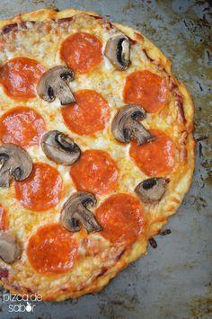 Masa de pizza de 3 ingredientes – La pizza más fácil de tu vida (30 minutos o menos)
