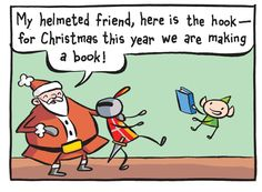Adventures in Cartooning: Christmas Special Christmas Books, All Things Christmas, Love Monster, Present Gift, Book Making, Free Stuff, Fun Things, Giveaways, Addiction