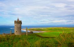 """""""The Irish tradition of warmth and conviviality is no myth. In defiance against the notion that city dwellers are fated to an impersonal existence, the """"Land of a Thousand Welcomes"""" spirit is omnipresent..."""" ireland travel, clare, castle"""