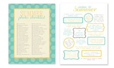 simple as that: simple summer project: journal your summer- great blog with cute ideas