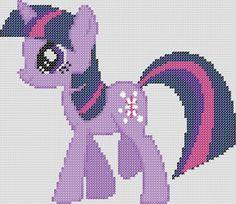 My Little Pony Inspired Pattern Twilight Sparkle by StitchedPixels, $1.25