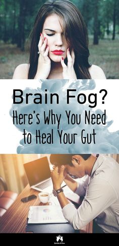 To get rid of brain fog, you need to heal your gut first. Here's why and what to do.