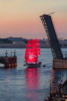 """Алые паруса-2015"" в г.Санкт-Петербурге - ""Red sails - 2015"", St. Petersburg"
