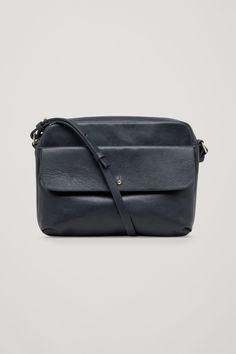 COS | Leather shoulder bag with suede detail