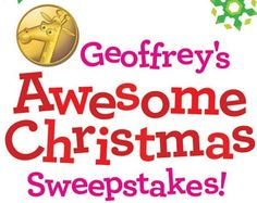 Every day, someone will score a $100 Toys R Us gift card in the TOYS R US Geoffrey's Awesome Christmas Sweepstakes. There will also be two grand prize winners. One of the grand prizes is …