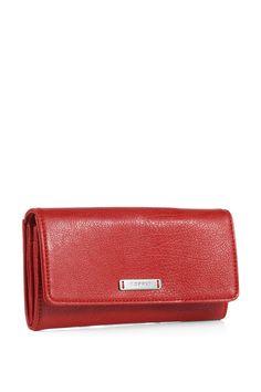 Esprit - fold-over wallet at our Online Shop