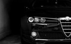 Alfa 159. Getaway car....