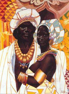 Black love artist unknown, artists, queens, queen sheba, king solomon, the queen, beauti, african art, black art