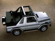 Mercedes-Benz G 320 Cabrio (W463) '1994–98
