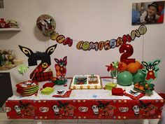 birthday party theme themedparty bing compleanno compleanno a tema festa decorazioni decoration diy faidate creativity handmade birthday party rabbit bing party ideas child 2 anni Harry Birthday, 3rd Birthday, Birthday Parties, Bing Bunny, Bunny Party, New Years Eve Party, Diy And Crafts, Birthdays, Baby Shower