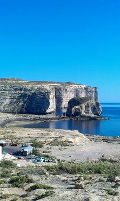 Malta, Gozo, Dwejra │ Come to Malta and discover our culture. There is no better place to learn English: http://lifeinmalta.com/ #malta #gozo #lifeinmalta
