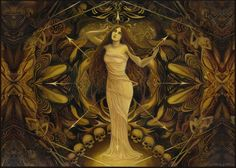 Eris Discordia Goddess of Chaos by Emily Balivet