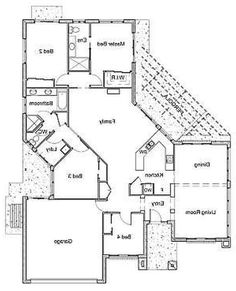Modern Architecture Blueprints two story l shaped house plans | house design | pinterest | house