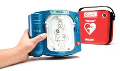 Save a life with a Portable Defibrillator. The American Red Cross said that improved training and access to Automated External Defibrillators (AEDs) could save 50,000 lives each year. More here: http://insidefirstaid.com/personal/first-aid-kit/portable-automated-external-defibrillators-aed-cpr-protect-others-from-sudden-cardiac-arrest #cardiac #arrest #defibrillator