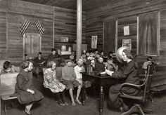 1921 Pocahontas Co WV Sunset School--IMWVCT