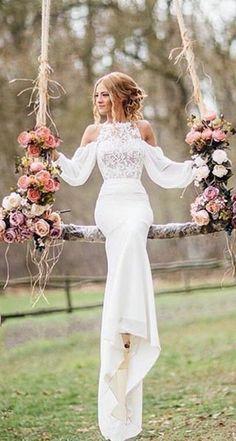 wedding dress hochzeit im winter kleidung 15 beste Outfits #winterweddingdresses
