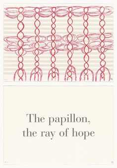 Louise Bourgeois, American, born France, 1911–2010, The Papillon, Ray of Hope from series, What is the Shape of this Problem?