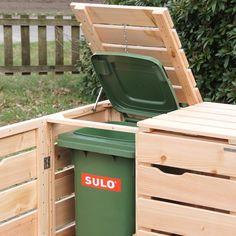 Mülltonnenbox Holz, Douglasie Natur                                                                                                                                                     Mehr