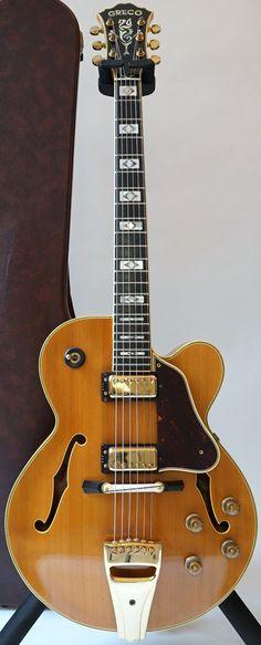 Greco SW2000N Archtop Guitar ~ https://www.pinterest.com/lardyfatboy/