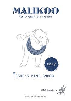 Eshe's Mini Snood Free Knitting - PDF Pattern – Malikoo