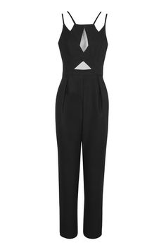 Sheer Peg Leg Jumpsuit