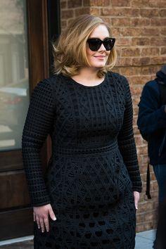 Adele Photos - Adele Departs Her Hotel - Zimbio