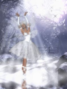 The Snow Fairy by tinablanton.deviantart.com