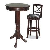Found it at Wayfair - Georgia 3 Piece Pub Table Set Kitchen Dining Sets, Kitchen Nook, Dining Room Sets, Interior Design Boards, Pub Table Sets, Pub Set, Table Frame, Dining Furniture, Hardwood