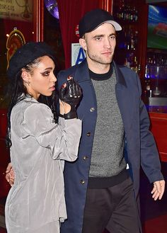 Robert Pattinson and Girlfriend FKA Twigs Cuddle Up at Her Star-Studded Concert After-Party Robert Pattinson, FKA Twigs