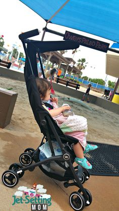 love to travel with the gb Pockit stroller #ic #ad #gbpockit #FamilyTravel #gbFuturePerfect