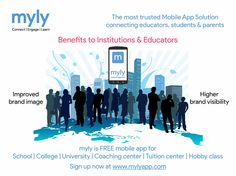 Does your institute using mylyapp? Look ‪#‎myly‬ app benefits - http://www.mylyapp.com/support Signup now at - http://www.mylyapp.com/ ‪#‎Schools‬ ‪#‎Colleges‬ ‪#‎Universities‬ ‪#‎Parents‬ ‪#‎Students‬