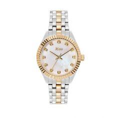Γυναικείο luxury & καθημερινό ρολόι JCou JU20000-3 Lucille με mother of pearl καντράν και δίχρωμο μπρασελέ   Γυναικεία ρολόγια JCou ΤΣΑΛΔΑΡΗΣ στο Χαλάνδρι #jcou #Lucille #μπρασελε #tsaldaris Rolex Watches, Bracelet Watch, Bracelets, Accessories, Bangle Bracelets, Watch, Bracelet, Bangle, Arm Bracelets