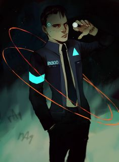 Detroit become human Connor By: casentine