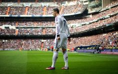 Cristiano Ronaldo of Real Madrid prepares to take a free kick during the la Liga match between Real Madrid CF and FC Barcelona at Estadio Santiago Bernabeu on March 2013 in Madrid, Spain Cristiano Ronaldo Free Kick, Cristano Ronaldo, Real Madrid, Alex Plays, Manchester, Ipod, Liverpool Football Club, Champions, Fc Barcelona