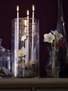 Advent wreath candles  (6)