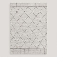 One of my favorite discoveries at WorldMarket.com: Manal Knotted Wool Rug