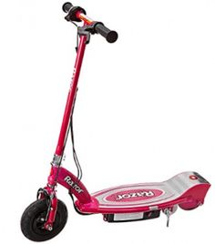Kids Hot Pink Electric Scooter Girls Motorized Ride On Childs Rechargeable Pink Electric Scooter, Electric Cars, Dirt Bike Girl, Girl Motorcycle, Motorcycle Quotes, New Technology Gadgets, Scooter Custom, Scooter Girl, Triumph Motorcycles