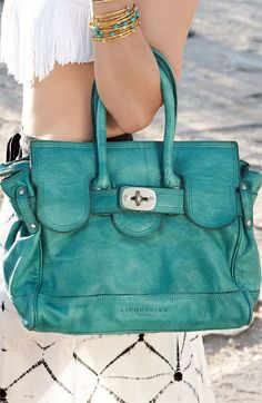 Turquoise bag... buying this now! staceymatson