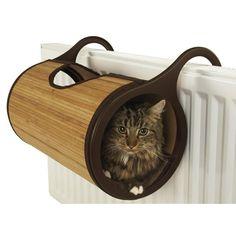 cabane de radiateur pour chat #hiver #chat