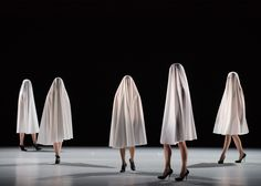 Fashion designer Hussein Chalayan debuts his first dance production in London.