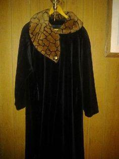 Monterrey fashions. V pretty coat 4 her looks like fur v good quality. F.& S 4 $ 85.00 made in u s a