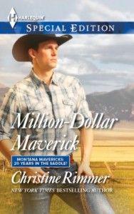 Million Dollar Maverick by Christine Rimmer Contemporary Romance book, Romance Book, Western Book