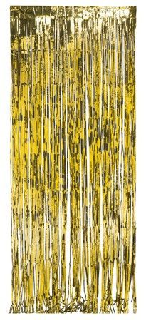 Foil Door Curtain, Happy New Year – nyea's Party Store