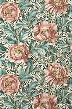 tapeter sovrum rosa blommor penelope ellos