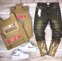 Cute Tomboy Outfits, Dope Outfits For Guys, Swag Outfits Men, Outfits Hombre, Summer Outfits Men, Stylish Mens Outfits, Male Outfits, Black Kids Fashion, Teen Boy Fashion
