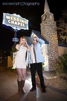 "Las Vegas wedding Photographer, www.exceedphotography.com, Las Vegas wedding chapel, ""Oh no,they didn't"""