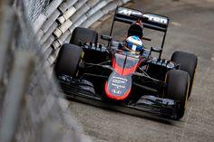 Monte Carlo, Monaco. Thursday 21 May 2015. Fernando Alonso, McLaren MP4-30 Honda.